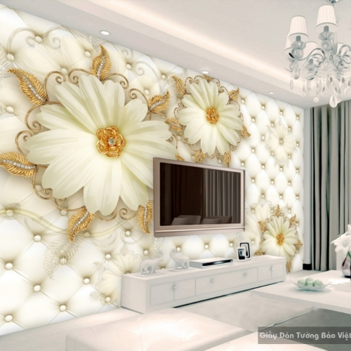 Decal dán tường & kính 3D FL017