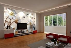 Decal dán tường & kính 3D FL018