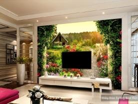 Decal dán tường & kính 3D FL022