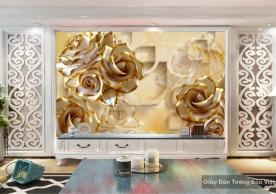 Decal dán tường & kính 3D FL033