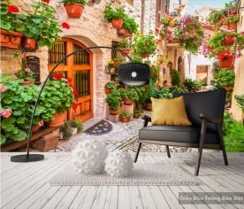 Decal dán tường & kính 3D Fm033