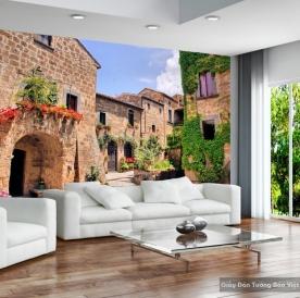 Decal dán tường & kính 3D Fm038