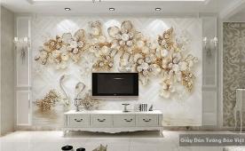 Decal dán tường & kính 3D FL002