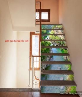 Tranh dán bậc cầu thang ak019
