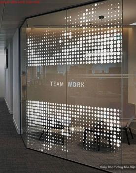 Decal dán kính văn phòng công ty glasses015
