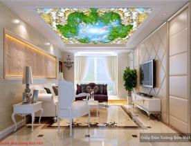 Tranh dán trần nhà 3d c145