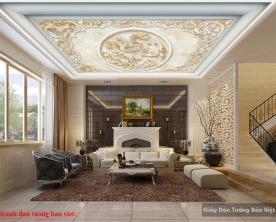 Tranh dán trần nhà 3d c166