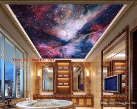 Tranh dán trần nhà C068