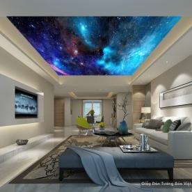 Tranh dán trần nhà C080