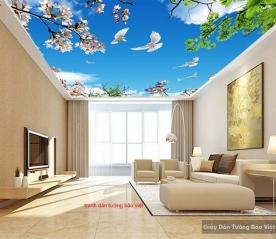 Tranh dán trần nhà C100
