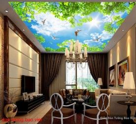 Tranh dán trần nhà c151