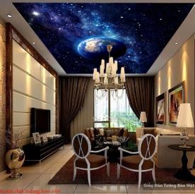 Tranh dán trần nhà galaxy C137
