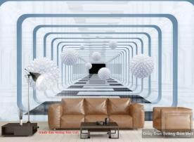 Tranh dán tường 3D-086