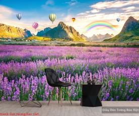 Tranh dán tường 3d phong cảnh Fi100