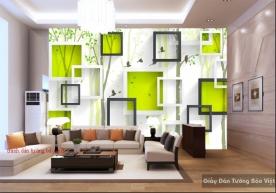 Tranh dán tường đẹp 3D-060