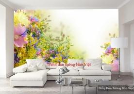 Tranh dán tường đẹp H118