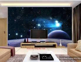 Tranh dán tường galaxy Fm212