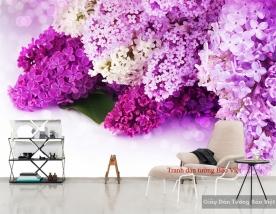Tranh dán tường hoa đẹp H116