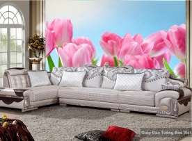 Tranh giấy dán tường hoa 3D H013