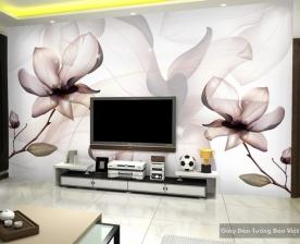 Tranh giấy dán tường hoa 3D H019