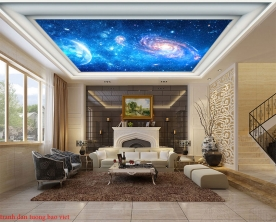 Galaxy ceiling paintings c171