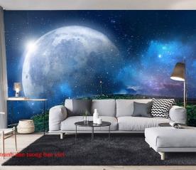 Tranh dán tường 3d galaxy c181