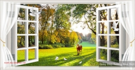 Wall paintings of 3d windows p231