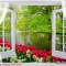 Tranh dán tường cửa sổ Fi050