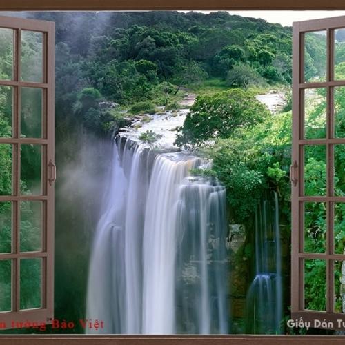 Tranh dán tường cửa sổ W127
