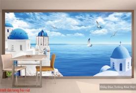 Tranh dán tường phong cảnh biển S205