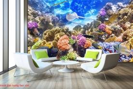 Tranh dán tường phong cảnh biển s243