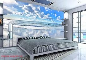 Tranh dán tường phong cảnh biển s253