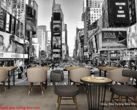Tranh dán tường New York fm400