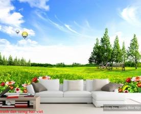 Tranh dán tường phong cảnh thiên nhiên Fi108