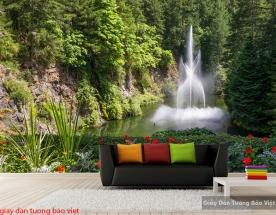 Tranh dán tường phong cảnh thiên nhiên W164
