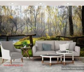 Tranh dán tường phong cảnh thiên nhiên tr233