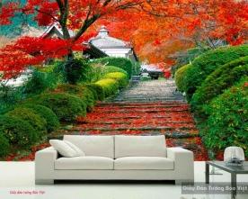 Tranh dán tường phong cảnh thiên nhiên v088
