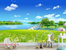 Tranh dán tường phong cảnh thiên nhiên fi126