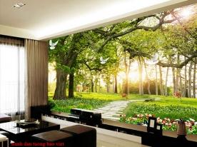 Tranh dán tường phong cảnh thiên nhiên fi138