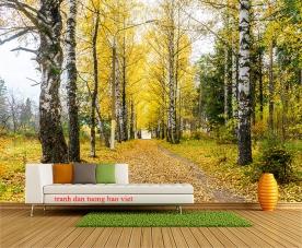 Tranh dán tường phong cảnh thiên nhiên tr309