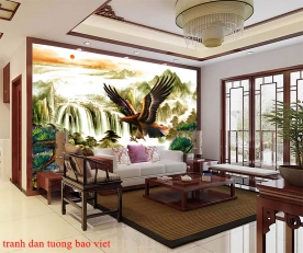 Feng shui wall paintings fm456