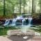 Tranh dán tường cảnh thác nước v213