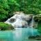 Tranh dán tường thác nước W132