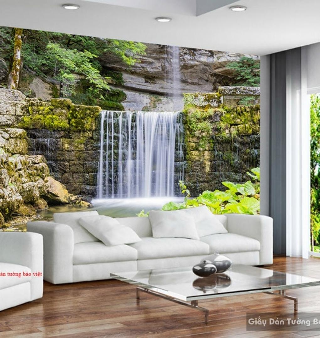 Tranh dán tường thác nước W151