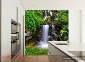 Tranh dán tường thác nước đẹp W146