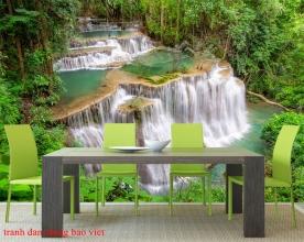 Tranh dán tường thác nước me018