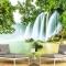Tranh dán tường thác nước me025