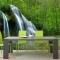 Tranh dán tường thác nước me034