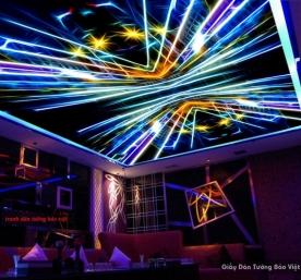 Tranh dán trần nhà cho karaoke c116