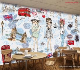 Tranh dán tường 3d trang trí v094